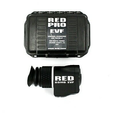 Excellent   Red PRO BOMB EVF OLED w/ Hard Case