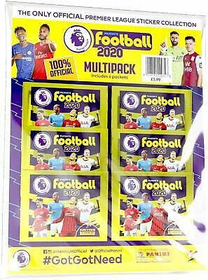 Panini's Football 2020  The Official Premier League Sticker Collection Multipack