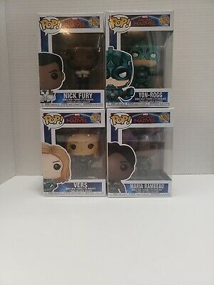 Funko Pop Captain marvel Lot