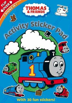 Thomas the Tank Engine: Activity Sticker Pad (Flipover Activit... Paperback Book