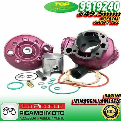 9919240 CILINDRO RACING TOP D.49,5mm BETA SUPERMOTARD RR 50 2T LC AM6 GHISA