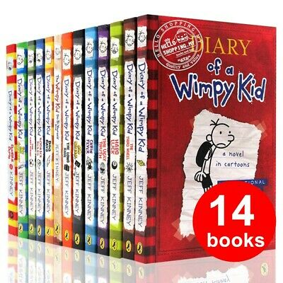 Diary Of A Wimpy Kid Collection ✅ 14 Books ✅ Set By Jeff Kinney (P~D~F)