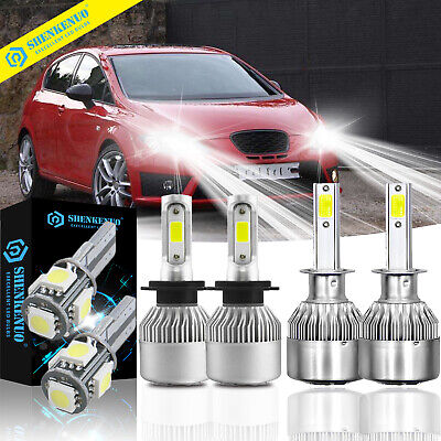 Rover 75 H1 H7 501 100w Clear Xenon HID High//Low//Side Headlight Bulbs Set