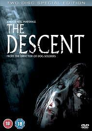 The Descent (DVD, 2005, 2-Disc Set) very good condition freepost