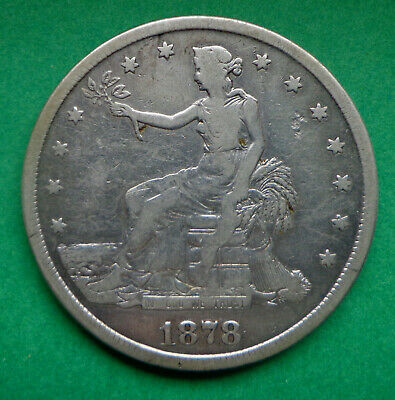 1878-S Trade Dollar, beautiful coin, low mintage, a nice addition to any collect