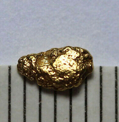 1 GOLDNUGGET- GOLD NUGGET aus ALASKA! 5mm!