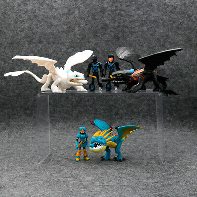 How To Train Your Dragon Deadly Nadder Night Light Fury Action Figure Kid Toy UK