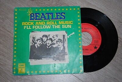 The Beatles Rock & Roll Music / I'll Follow The Sun Lp Pathe M.1973 Picture Disc