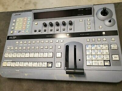 Sony DFS-700A Mixer/Video Switcher Working