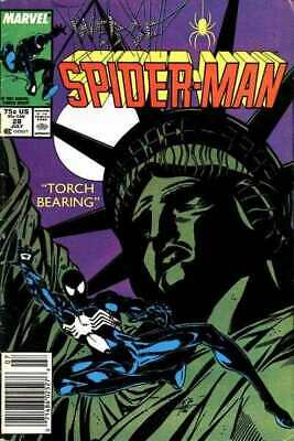 Web of Spider-Man (1985 series) #28 in NM minus condition. Marvel comics [*rp]