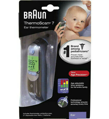 Braun ThermoScan 7 ExactTemp Ear Thermometer IRT6520US New BoX FREE SHIP Today