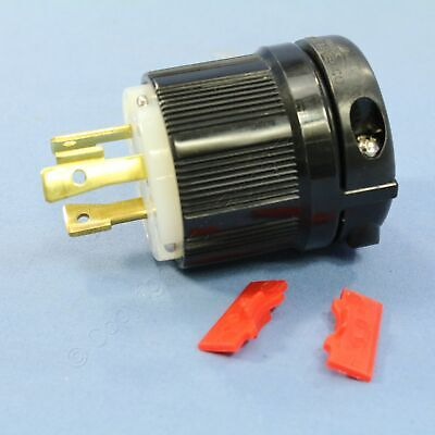 New Cooper Turn Twist Locking Power Plug Hart-Lock NEMA L8-30P 30A 480V CWL830P