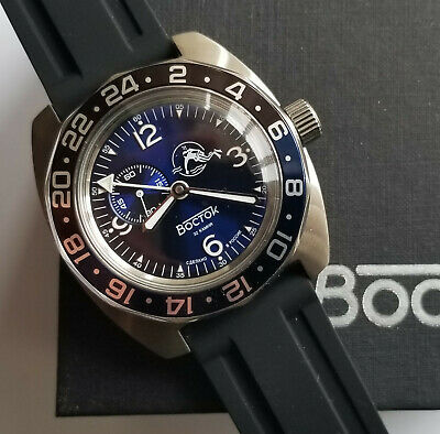 Russian watch. Vostok AMPHIBIAN. 170862. 24H. Automatic. 20 ATM. New!