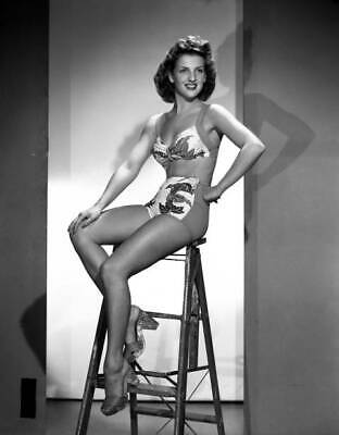 OLD CBS RADIO PHOTO Radio Actress Doris Singleton Models Swim Wear