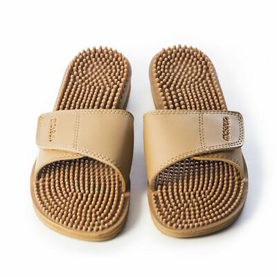 Maseur Invigorating Massage Sandal Beige Size 7