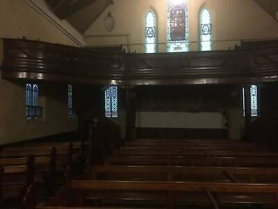 Church Pews 2 sizes hardwood good condition