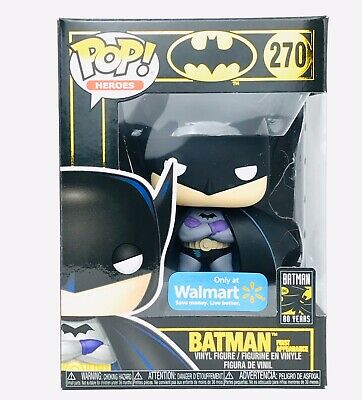 Funko Pop Heroes 270 Batman (First Appearance) Sun Faded Walmart Exclusive