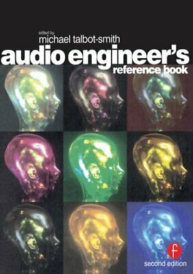Audio Engineer's Reference Book Paperback Book The Fast Free Shipping