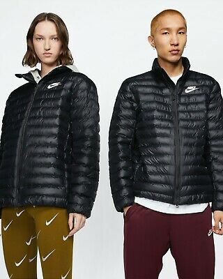 Nike Sportswear - Synthetic Fill Puffer Jacket - Black - Size S - Authentic!
