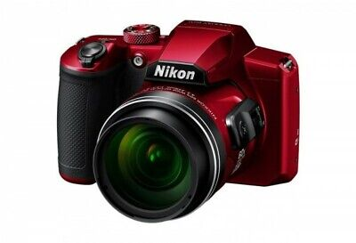 Nikon COOLPIX B600 Digital Camera (Red)