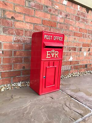 Large Red Replica Royal Mail Post Box Or Letter Box