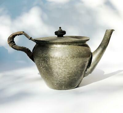 Rare KESWICK ARTS & CRAFTS PEWTER TEAPOT