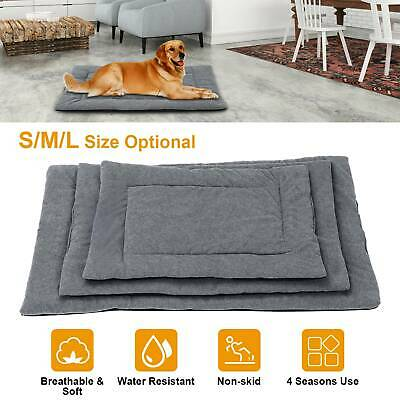 Pet Dog Cat Blanket Fleece Bed Puppy Cushion House Soft Warm Kennel Washable Mat