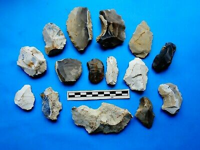 Flint Group of Tools;Mesolithic /Neolithic  (X)-Dorset Found  -Look!