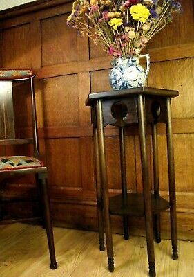 Arts and Crafts Table Circa 1900. Antique Side Table Manner Of Cotswold School