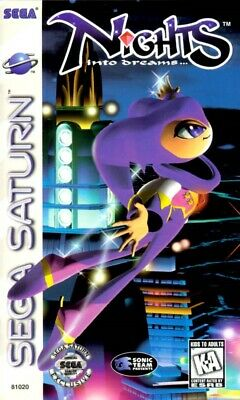 Nights Into Dreams... Game (Sega Saturn, 1996) Disk Only