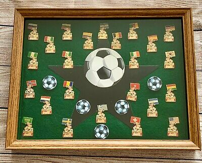 1994 Coca Cola FULL SET of Soccer World Cup 94' Championship Pins