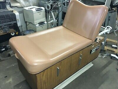 VINTAGE Hamilton POWERED OBGYN Medical Exam Patient Table 1977 FOOT PEDAL