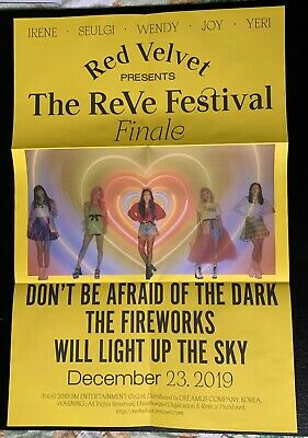 RED VELVET the Reve Festival Finale folded poster (finale and scrapbook ver)