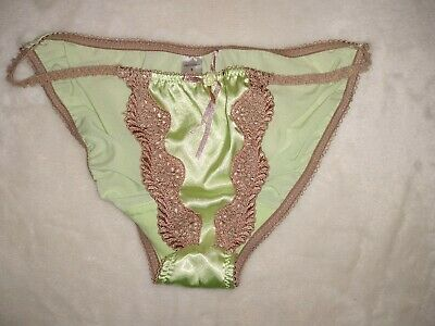 Vintage Shiny Slippery Bikini Panties Sz Sm 5/6