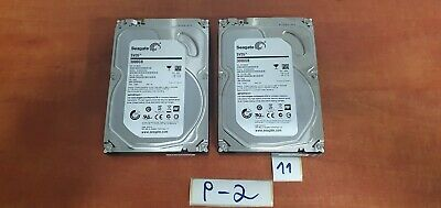 "Lot of 2 Seagate SV35 3TB,Internal,7200 RPM,8.89 cm (3.5"") ST3000VX000 Desktop"