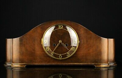Vintage Mechanical Pendulum Mantel Clock with chiming Germany