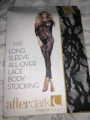 Lingerie Lace Bodystocking Exotic Dancer Stripper Brand New In Box ONE SIZE