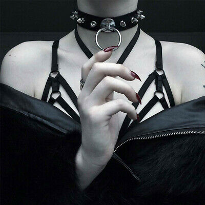 Thorns Frosty Clavicle Neck Collar Punk Dark Girl Necklace