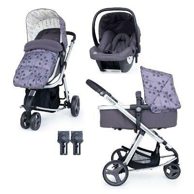 Cosatto Giggle Lite Travel System - 3 Wheels (Pom Pom Tree) - From Birth