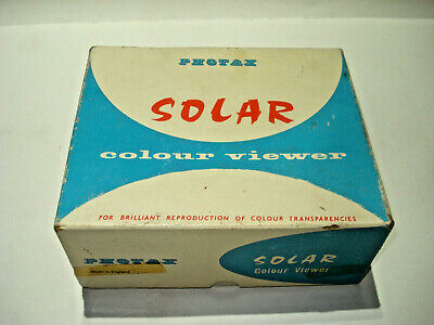 Photax Solar Colour Viewer In Original Box Excellent Condition Free Post