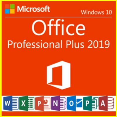 MS Office 2019 Pro Plus 32/64 bit 🔥 1 PC Genuine Key Instant Email Delivery ✅