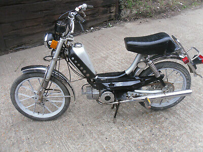 1978 Puch Free Spirit 50 Classic Peddle Moped Project Barn Find Fs1E Moby Maxi