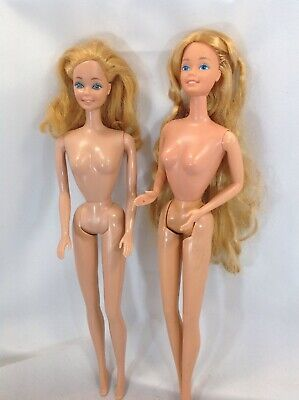 Vintage Barbie Twirly Curl 82'  And My First Barbie Mattel Toys