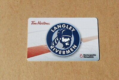Tim Hortons Gift Card Langley Riverman New 4 Available Free Shipping