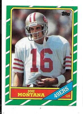 1986 Topps Football Singles #'s 1 - 196 Complete Your Set Pick From List NRMT