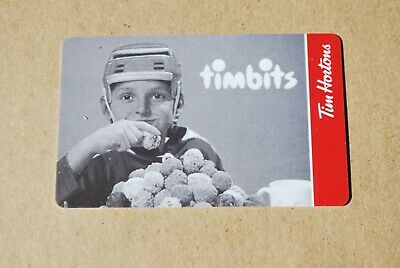 Tim Hortons Gift Card Timbits Hockey New 4 Available Free Shipping