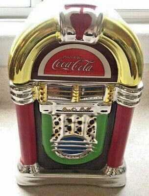 """Coca Cola Cookie Jar By Gibson. 2002 12"""""""