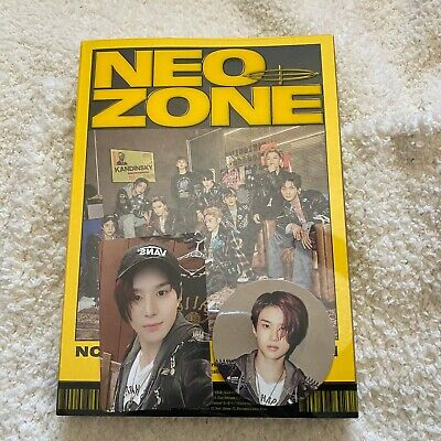 Nct 127 Neo Zone The 2Nd Album N Ver Jungwoo Photocard + Circle Card Kpop