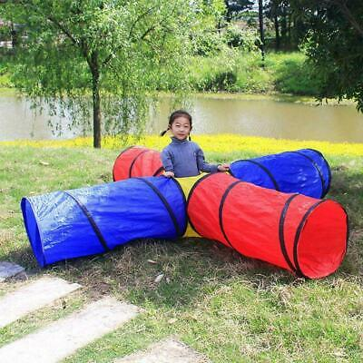 Kids Play Tunnel Tent Indoor Outdoor Children Baby Crawl Foldable Game Toy W7G5