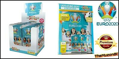 Panini Adrenalyn XL UEFA EURO 2020 Trading Cards Full Box 50 Packets + Starter